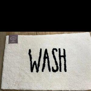 Rae Dunn WASH Bath mat